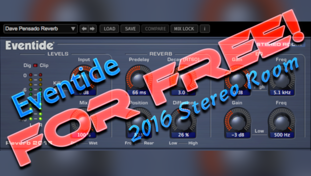 Eventide 2016 Stereo Room For Free